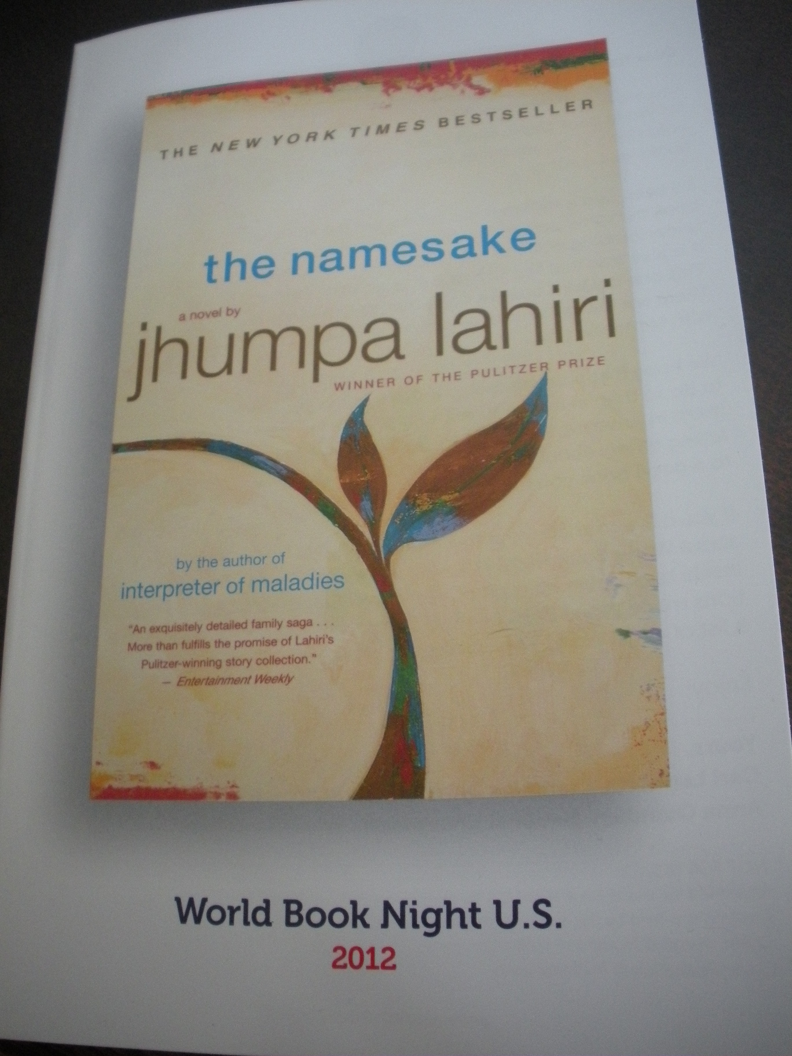the namesake The namesake: a novel [jhumpa lahiri] on amazoncom free shipping on qualifying offers dazzlingan intimate, closely observed family portrait— the new york times hugely appealing— people magazine an exquisitely detailed family saga— entertainment weekly meet the ganguli family.