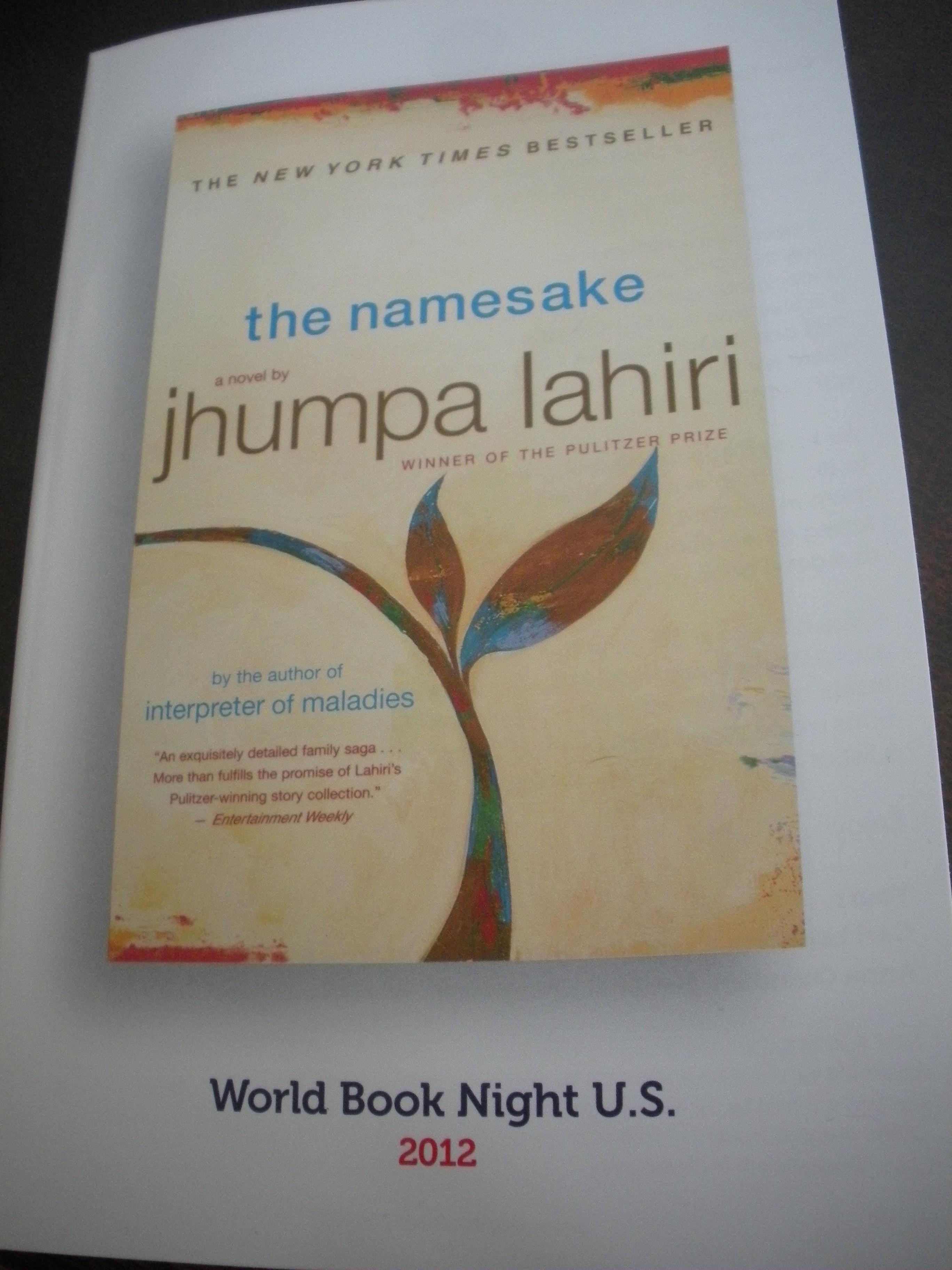 review for namesake book
